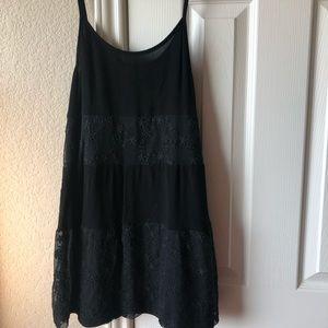 Charming Charlie's black mini dress, size small
